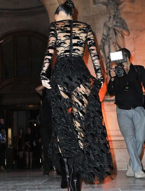 Kendall Jenner wears completely see-through dress