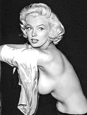 Marilyn Monroe unforgettable pussy pics