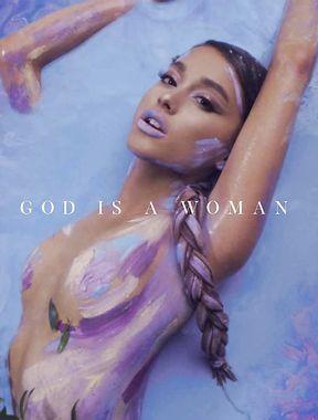 Ariana Grande thrilling topless album