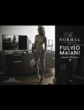 Justine Mattera shows pussy and nude tits
