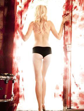 Malin Akerman goes topless