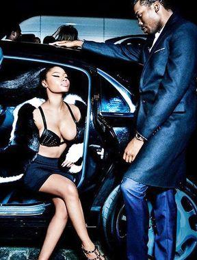Nicki Minaj sexy rope bondage photos