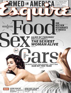 Emilia Clarke goes naked for magazine