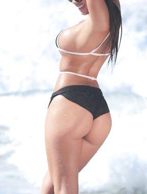 Tawny Jordan massive bikini cleavage