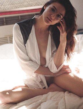 Christina Ionno exposes sexy ass