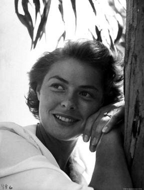 The Most Iconic Ingrid Bergman rare topless photos