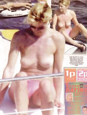 Anthea Turner tits
