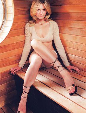 Kirsten Dunst panties exposed