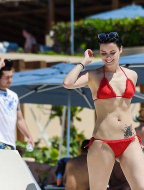 Jaimie Alexander bikini