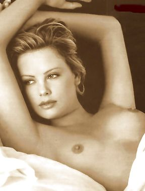 Charlize Theron topless