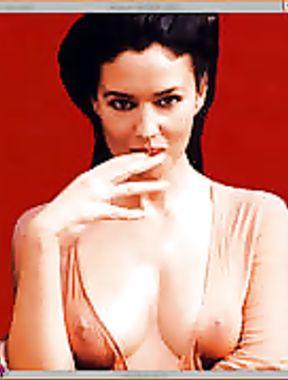 Monica Bellucci nipples