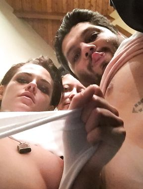 Kristen Stewart nipples
